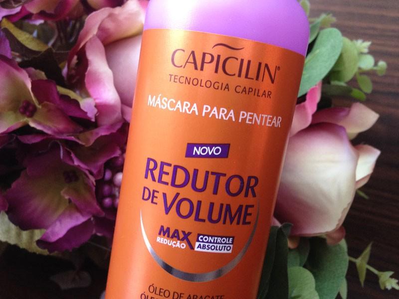 máscara de pentear Redutor de Volume Capicilin