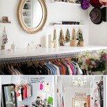 4 Dicas Para Decorar e Organizar o Closet Gastando Pouco