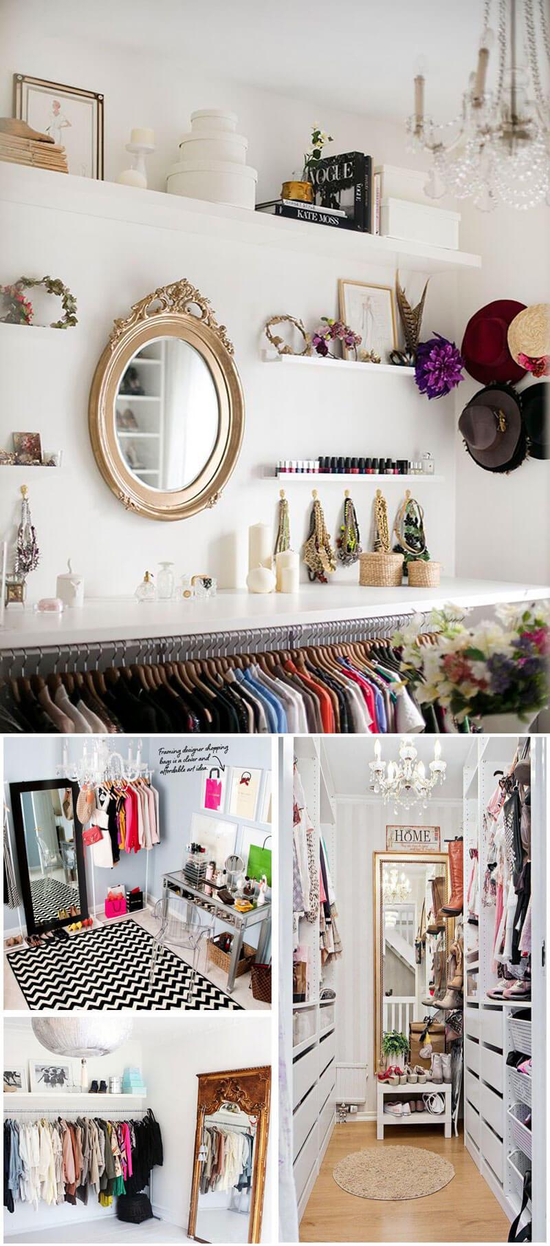 organizar o closet gastando pouco