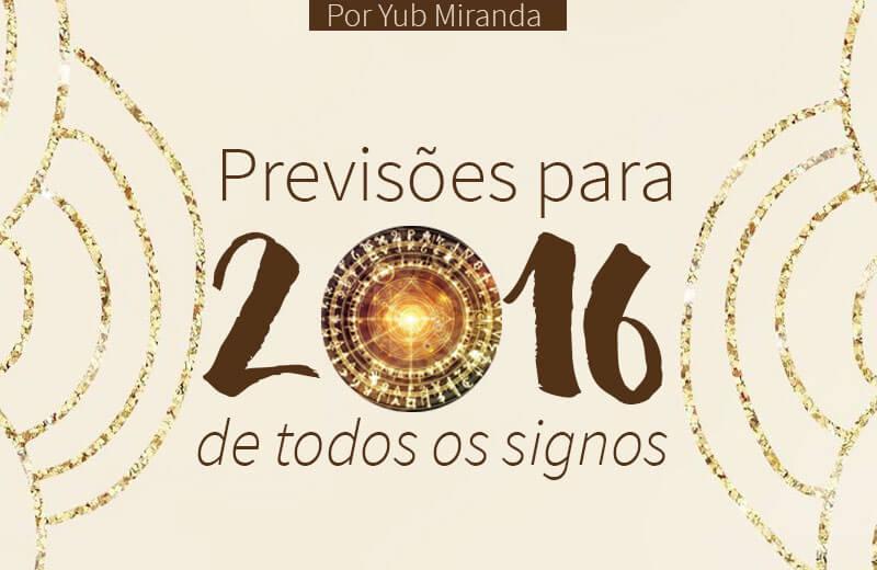 previsões para 2016 signos astrologia grátis