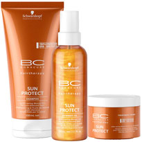 Kit Bonacure Sun Protect Shimmer, R$289,07