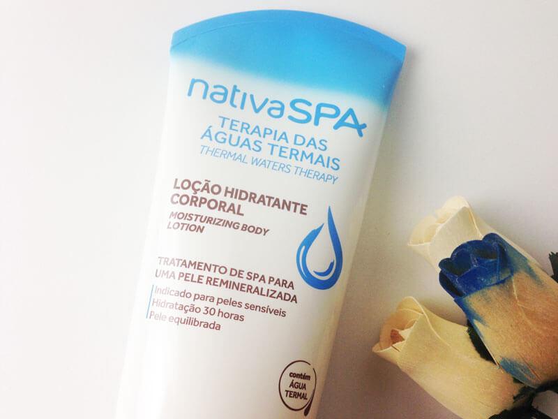 Loção Hidratante Corporal Terapia das Águas Termais Nativa SPA