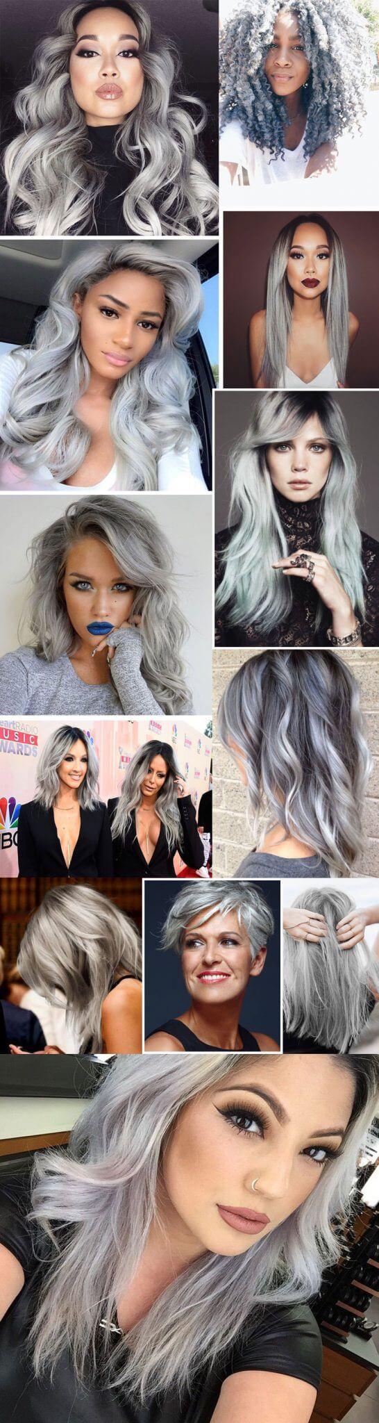 granny hair cabelo cinza juro valendo