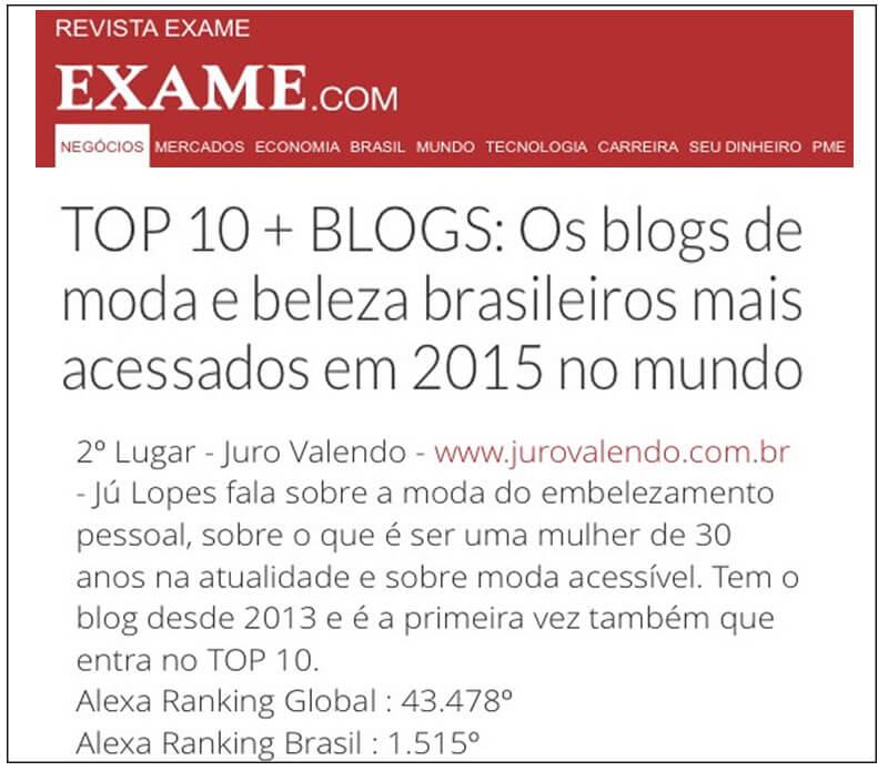 melhores blogs de beleza juro valendo blog mais acessado no mundo