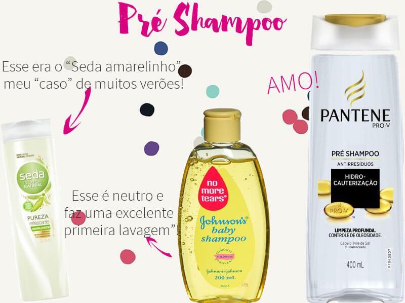 shampoo antirresíduos detox pré shampoo esfoliante diferenças