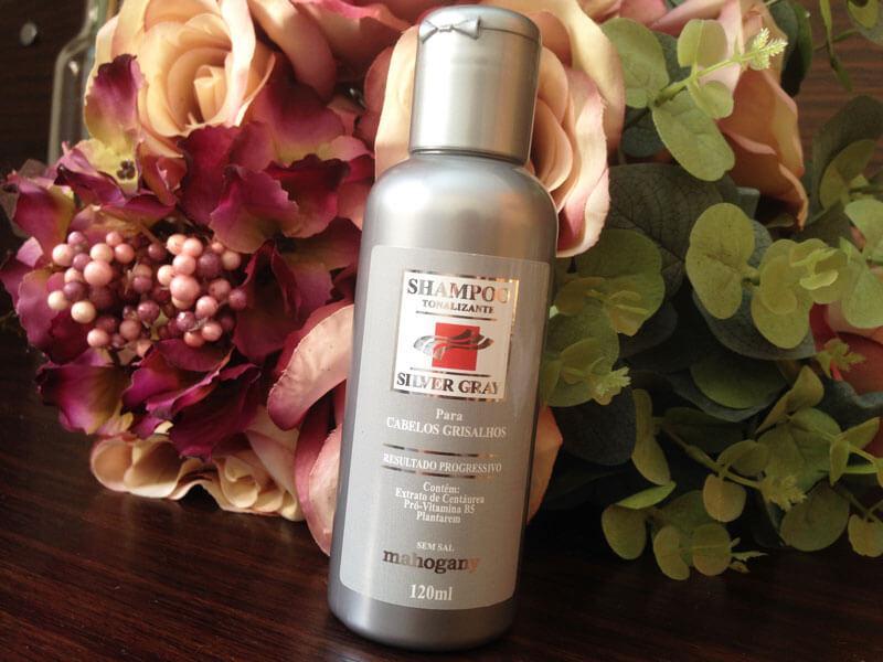 Shampoo Silver Gray Mahogany
