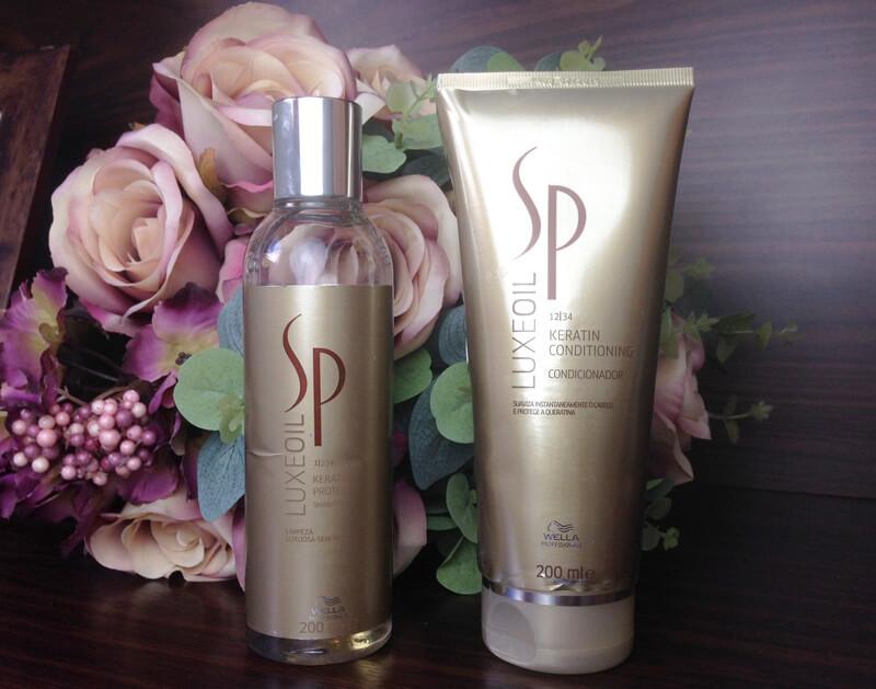 Shampoo e Condicionador SP LuxeOil Wella Professionals