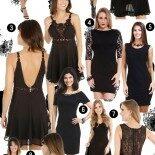 Vestido Preto: Achados de Fast Fashion
