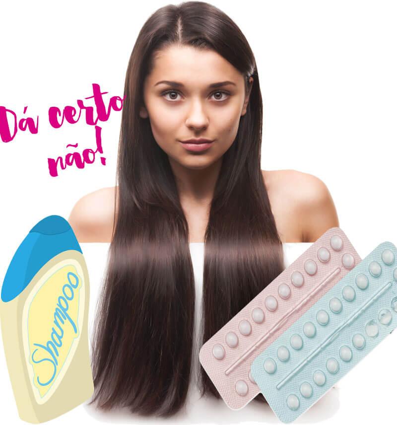 anticoncepcional no shampoo cabelo crescer juro valendo ju lopes