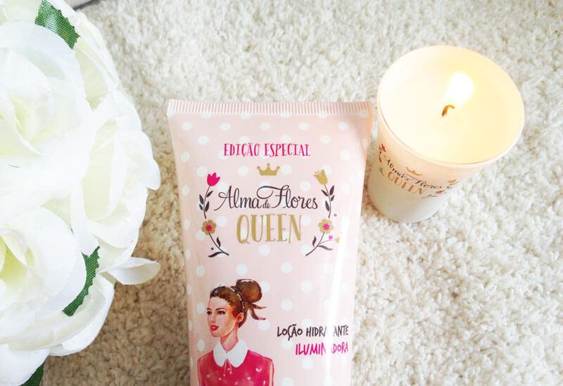 loção hidratante iluminadora alma de flores queen juro valendo