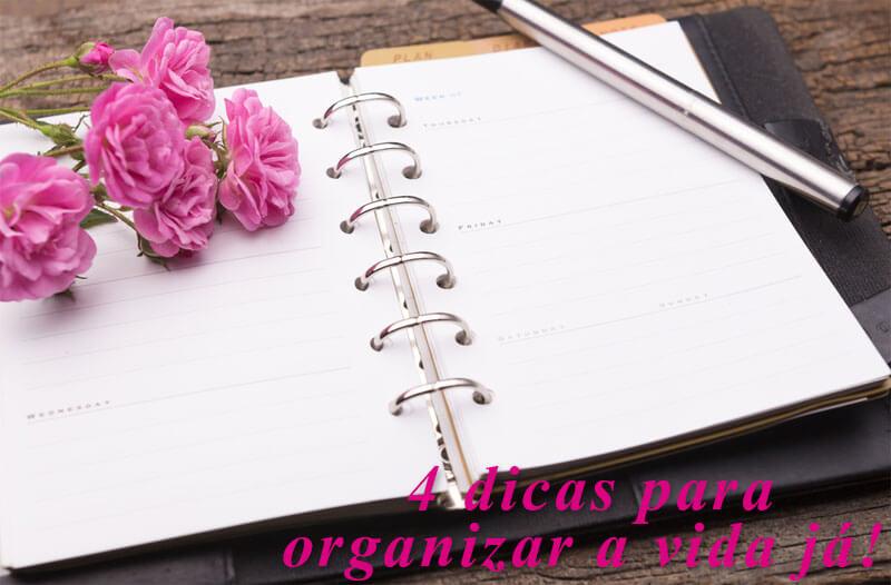 dicas para organizar a vida juro valendo