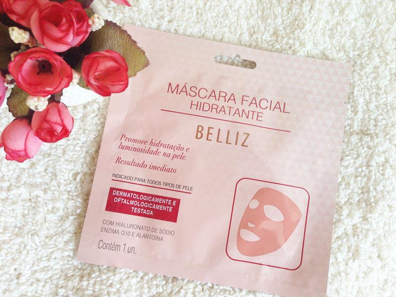 Máscara Facial Hidratante Belliz