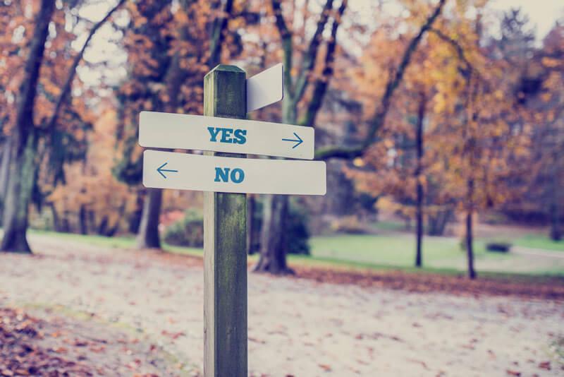 dizer sim pra si mesma