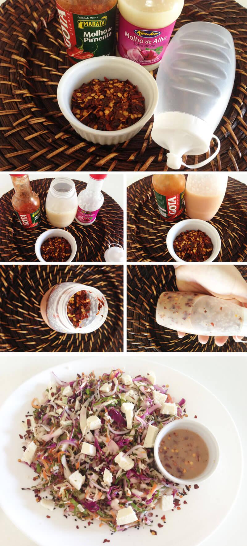 receita de molho de alho picante juro valendo