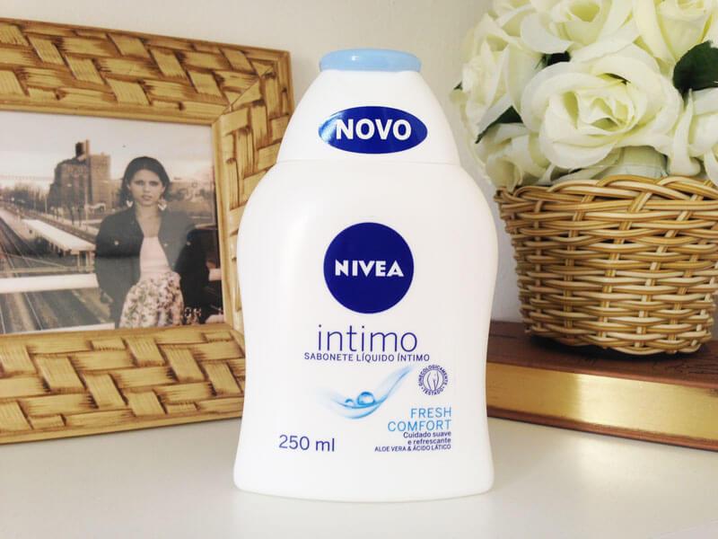Sabonete Íntimo Nivea Fresh Comfort