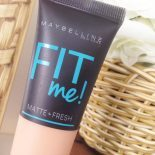 Base Fit Me! Maybelline Matte + Fresh