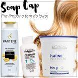 Soap Cap: Limpeza de Cor Para Cabelos