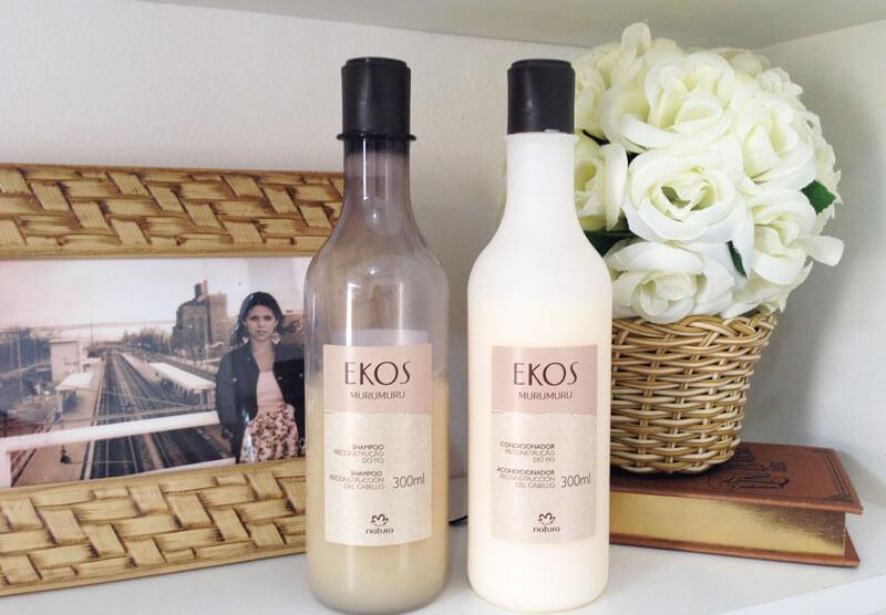Shampoo e Condicionador Murumuru Natura Ekos
