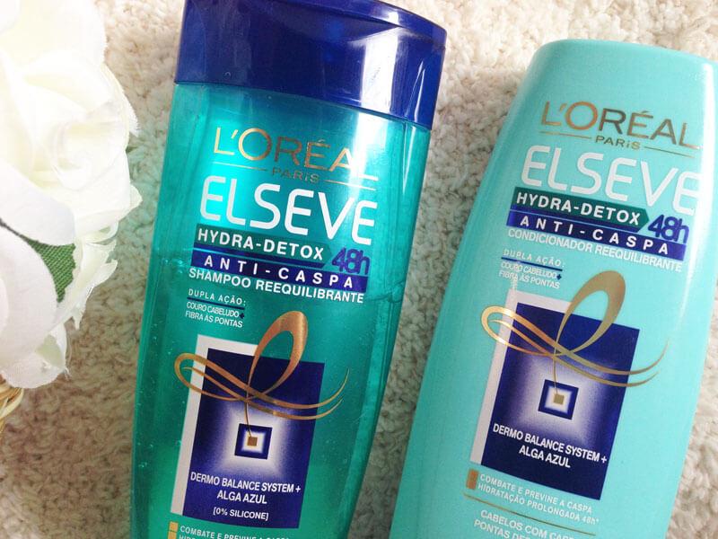 Shampoo e Condicionador Anti-Caspa Elseve