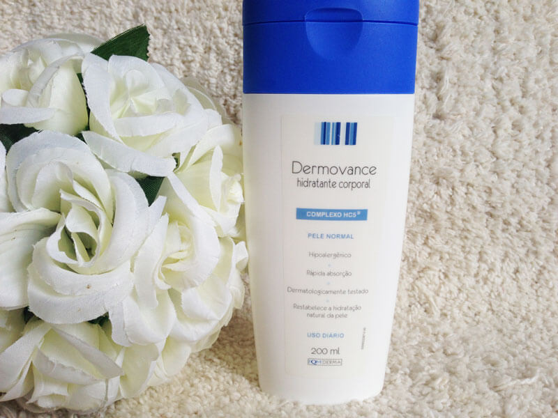 hidratante corporal dermovance pele normal