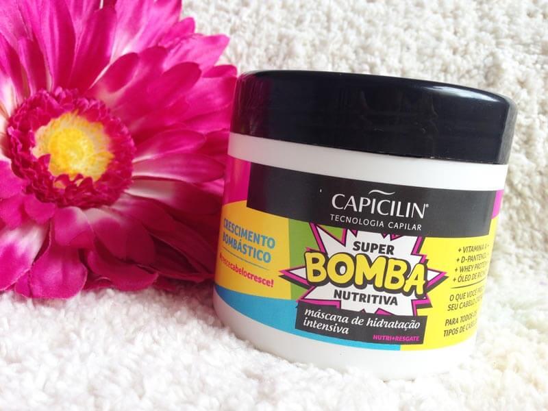 Máscara Super Bomba Nutritiva Capicilin