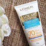 Solar Expertise Facial Toque Limpo Com Cor FPS 70 L´Oréal