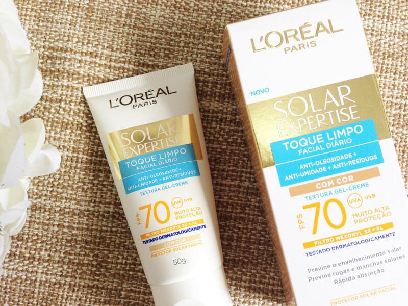 Solar Expertise Facial Toque Limpo Com Cor