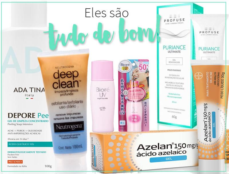 produtos para pele oleosa juro valendo