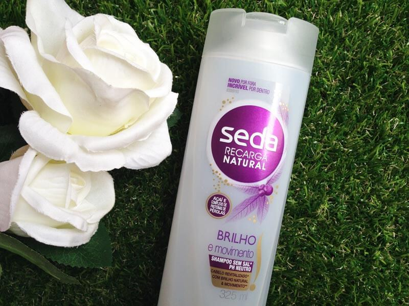 shampoo brilho e movimento seda
