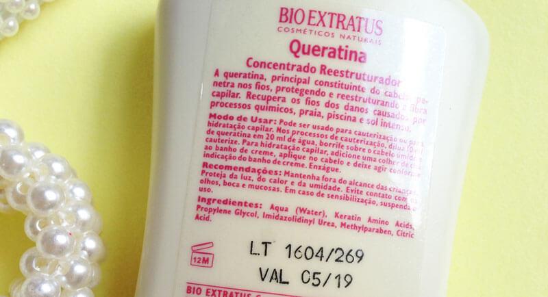 queratina bio extratus