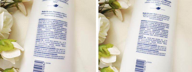 Dove Ritual de Reparação Óleo de Coco e Cúrcuma Shampoo e Condicionador