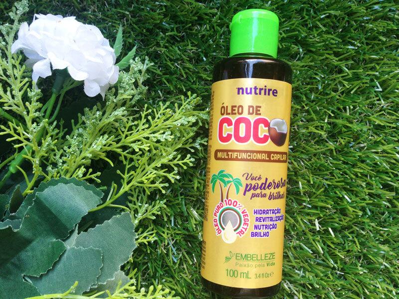 novex óleo de coco