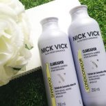 Shampoo Clareador e Condicionador Nick Vick