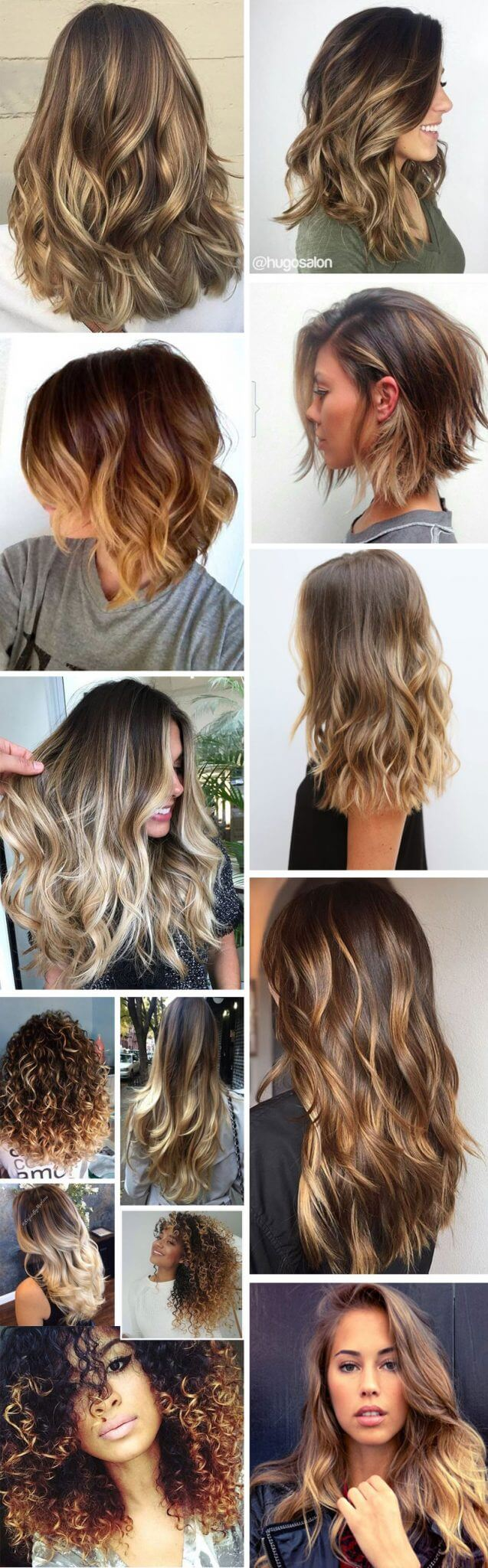 Ombré Hair Platinado Cabelo Cabeleireiro A