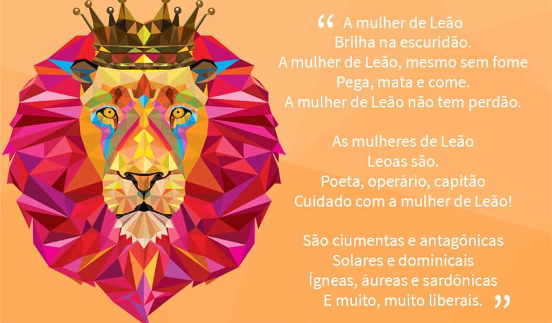 mulher de leão