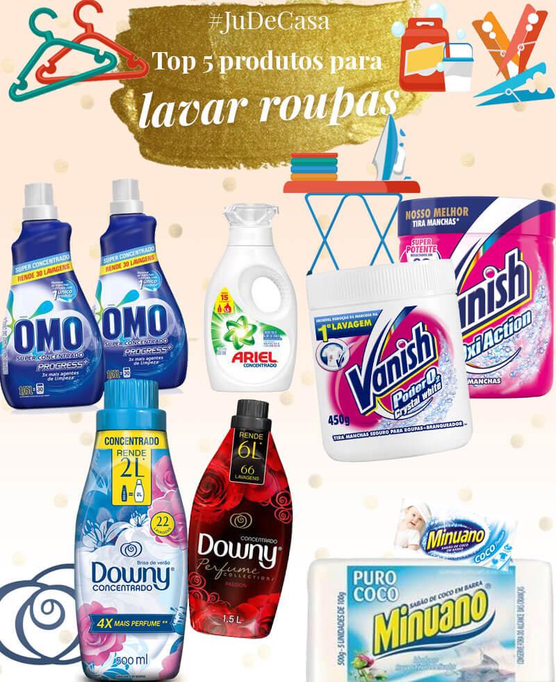 melhores produtos para lavar roupas juro valendo
