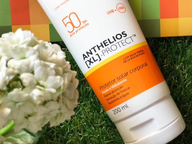 Anthelios XL Protect FPS 50: O Protetor Solar Corporal da La Roche-Posay