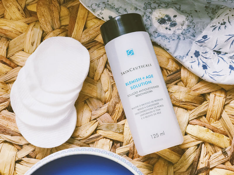 Blemish Age Solution SkinCeuticals resenha juro valendo