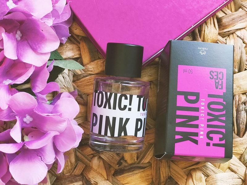 perfume toxic pink natura faces juro valendo