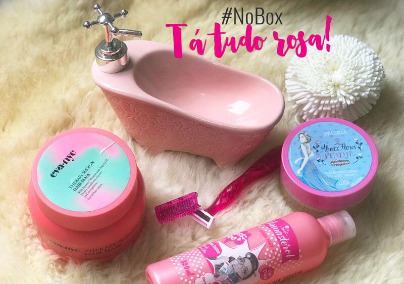 tá tudo rosa no box