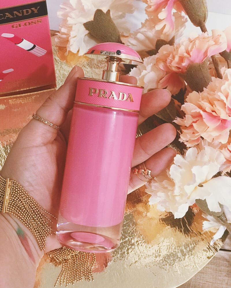 resenha perfume prada candy gloss juro valendo perfumando