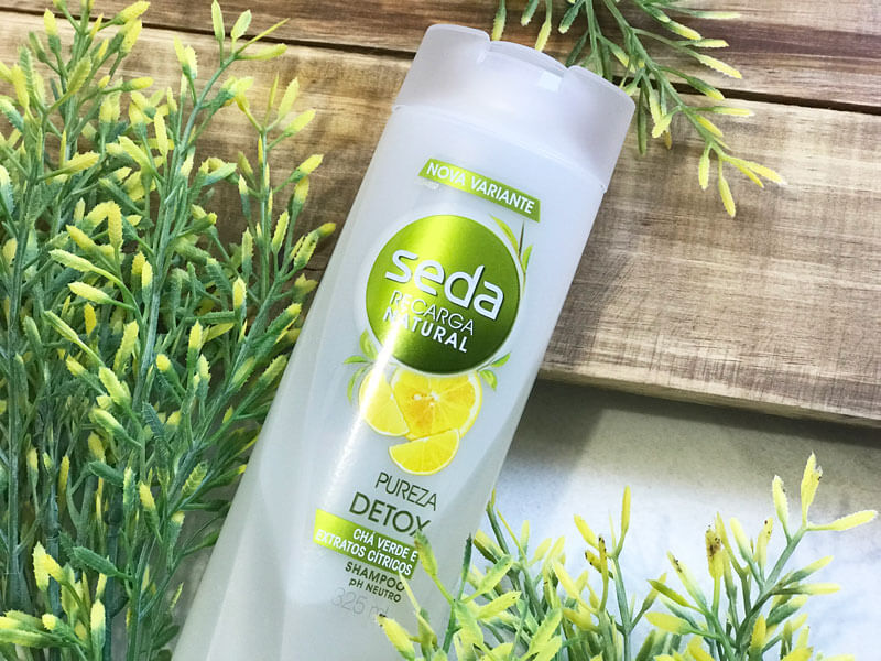 shampoo pureza detox seda resenha juro valendo