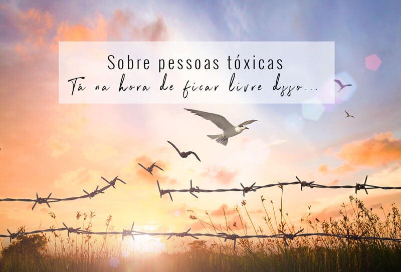 sobre pessoas tóxicas