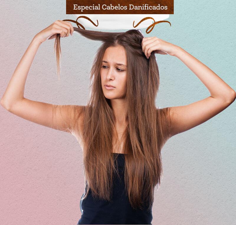 cabelos danificados como tratar juro valendo