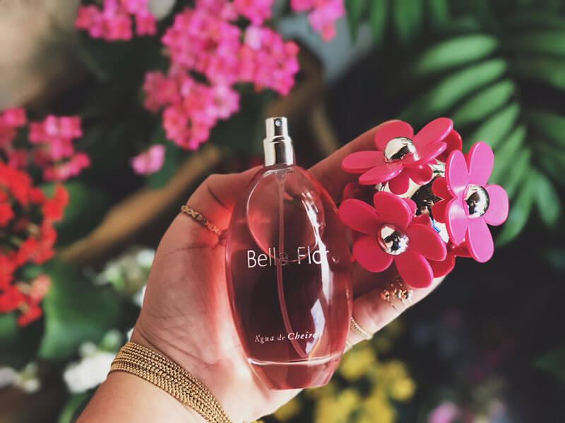 perfume bella flor água de cheiro resenha juro valendo
