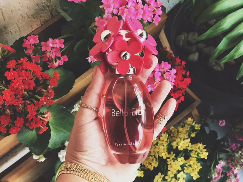 perfume bella flor água de cheiro resenha