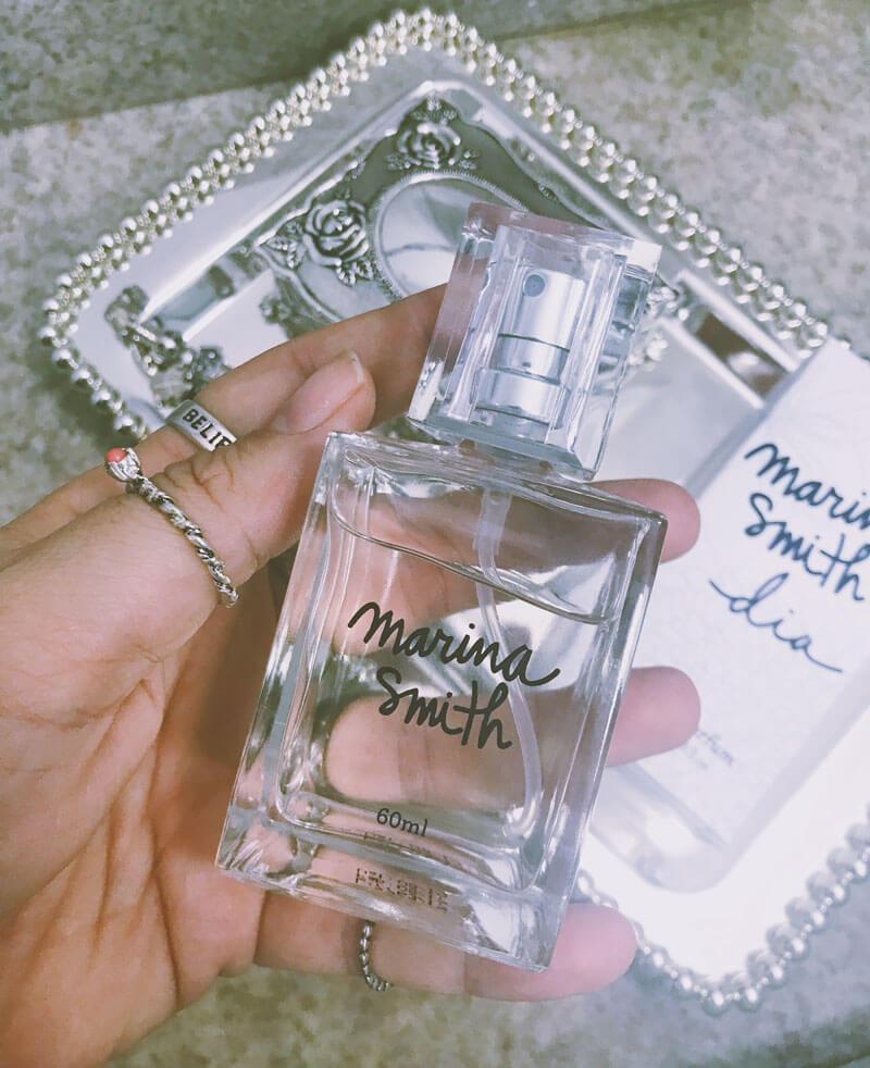 perfume dia marina smith resenha