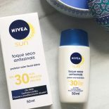Nivea Toque Seco Antissinais FPS 30: Protetor Solar Facial