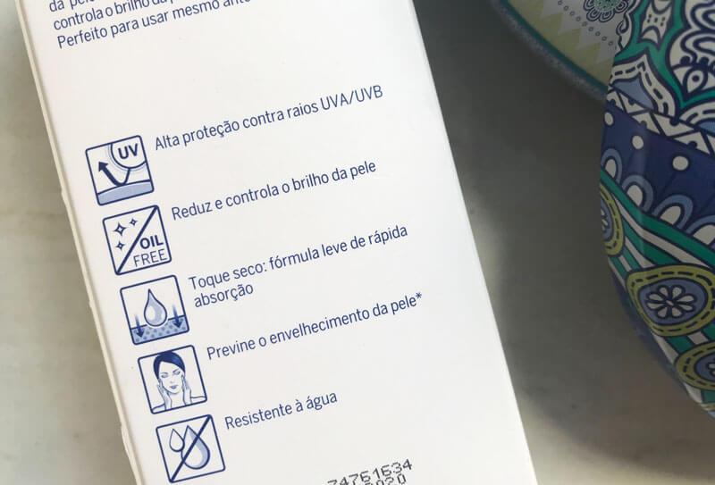 protetor solar Nivea Toque Seco Antissinais FPS 30 juro valendo