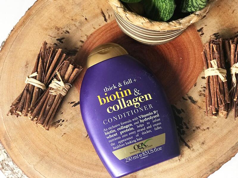 Condicionador Biotin & Collagen OGX resenha